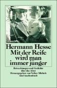 Cover-Bild zu Mit der Reife wird man immer jünger von Hesse, Hermann
