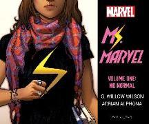 Cover-Bild zu Wilson, G. Willow: Ms. Marvel Vol. 1: No Normal