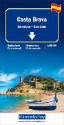 Costa Brava, Barcelona Regionalkarte 1:200 000. 1:200'000 von Hallwag Kümmerly+Frey AG (Hrsg.)