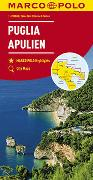 MARCO POLO Karte Italien Blatt 11 Apulien 1:200 000. 1:200'000
