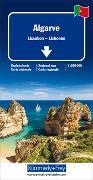 Algarve, Lissabon Regionalkarte 1:200 000. 1:200'000 von Hallwag Kümmerly+Frey AG (Hrsg.)