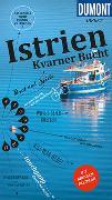Cover-Bild zu DuMont direkt Reiseführer Istrien, Kvarner Bucht. 1:340'000 von Schetar, Daniela