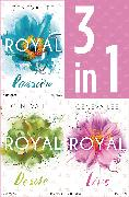 Cover-Bild zu Die Royals-Saga 1-3: - Royal Passion / Royal Desire / Royal Love (eBook) von Lee, Geneva