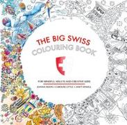 The Big Swiss Colouring Book von Moon, Joanna