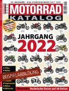 Cover-Bild zu Motorrad-Katalog 2022