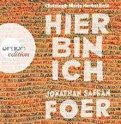 Cover-Bild zu Hier bin ich von Foer, Jonathan Safran