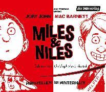 Cover-Bild zu Miles & Niles - Hirnzellen im Hinterhalt (Audio Download) von John, Jory