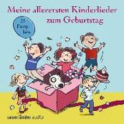 Cover-Bild zu Meine allerersten Kinderlieder zum Geburtstag von Vahle, Fredrik (Gespielt)