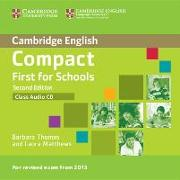 Compact First for Schools Class Audio CD von Thomas, Barbara