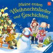 Cover-Bild zu Meine ersten Weihnachtslieder und Geschichten von Nahrgang, Frauke