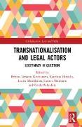 Cover-Bild zu Transnationalisation and Legal Actors (eBook) von Kristiansen, Bettina Lemann (Hrsg.)