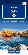 Apulien Regionalkarte Italien Nr. 13, 1:200 000. 1:200'000 von Hallwag Kümmerly+Frey AG (Hrsg.)