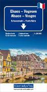 Elsass-Vogesen 1:200 000. 1:200'000 von Hallwag Kümmerly+Frey AG (Hrsg.)