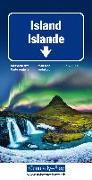 Island Strassenkarte. 1:650'000 von Hallwag Kümmerly+Frey AG (Hrsg.)