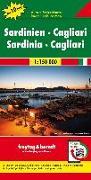 Sardinien - Cagliari, Autokarte 1:150.000, Top 10 Tips. 1:150'000 von Freytag-Berndt und Artaria KG (Hrsg.)