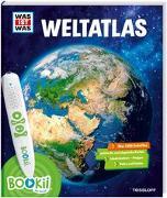 Cover-Bild zu BOOKii® WAS IST WAS Weltatlas von Baur, Dr. Manfred