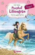 Cover-Bild zu Ponyhof Liliengrün Royal (Band 1) - Marie und Merlin von McKain, Kelly