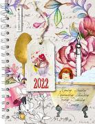 Daphne's Diary - Taschenkalender 2022