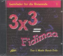 3 x 3 gleich Fidimaa 1. Lernlieder für die Unterstufe von Maurer-Früh, Sarah