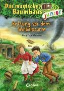 Cover-Bild zu Das magische Baumhaus junior (Band 21) - Rettung vor dem Wirbelsturm von Pope Osborne, Mary