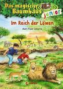 Cover-Bild zu Das magische Baumhaus junior (Band 11) - Im Reich der Löwen von Pope Osborne, Mary