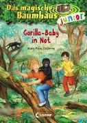 Cover-Bild zu Das magische Baumhaus junior (Band 24) - Gorilla-Baby in Not von Pope Osborne, Mary