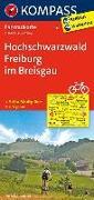 KOMPASS Fahrradkarte Hochschwarzwald, Freiburg im Breisgau. 1:70'000 von KOMPASS-Karten GmbH (Hrsg.)