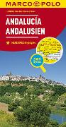 MARCO POLO Regionalkarte Spanien: Andalusien 1:300 000. 1:300'000