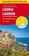 MARCO POLO Karte Italien Blatt 5 Ligurien 1:200 000. 1:200'000