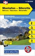 Montafon - Silvretta Nr. 02 Outdoorkarte Österreich 1:35 000. 1:35'000 von Hallwag Kümmerly+Frey AG (Hrsg.)