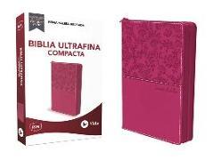 RVR Santa Biblia Ultrafina Compacta, Leathersoft con cierre von Revisada, Reina Valera
