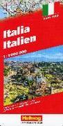 Italien Strassenkarte 1:1 Mio. 1:1'000'000 von Hallwag Kümmerly+Frey AG (Hrsg.)