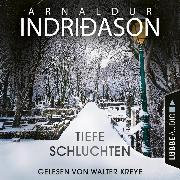 Cover-Bild zu Tiefe Schluchten (Ungekürzt) (Audio Download) von Indriðason, Arnaldur