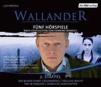 Cover-Bild zu Wallander. Fünf Hörspiele. 2. Staffel von Mankell, Henning