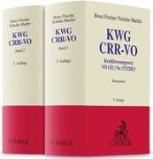 Cover-Bild zu KWG, CRR-VO von Boos, Karl-Heinz (Hrsg.)