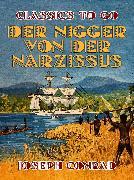 """Cover-Bild zu """"Der Nigger von der """"""""Narzissus"""""""""""" (eBook) von Conrad, Joseph"""