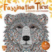 Faszination Tiere - Ausmalen und Staunen von Merritt, Richard (Illustr.)