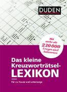 Das kleine Kreuzworträtsel-Lexikon von Dudenredaktion