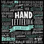 Handlettering für alle! von Luttenberg, Karin