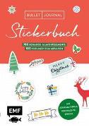 Bullet Journal - Stickerbuch Merry Christmas: 700 weihnachtliche Schmuckelemente