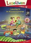 Cover-Bild zu Leselöwen 1. Klasse - Lesenacht im Klassenzimmer von Taube, Anna