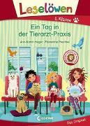 Cover-Bild zu Leselöwen 1. Klasse - Ein Tag in der Tierarzt-Praxis von Heger, Ann-Katrin