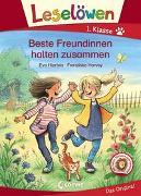 Cover-Bild zu Leselöwen 1. Klasse - Beste Freundinnen halten zusammen von Hierteis, Eva