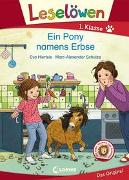 Cover-Bild zu Leselöwen 1. Klasse - Ein Pony namens Erbse von Hierteis, Eva