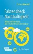 Cover-Bild zu Faktencheck Nachhaltigkeit von Unnerstall, Thomas