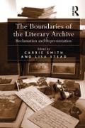 Cover-Bild zu The Boundaries of the Literary Archive (eBook) von Stead, Lisa