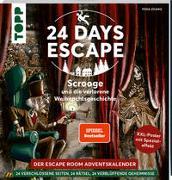Cover-Bild zu 24 DAYS ESCAPE - Der Escape Room Adventskalender: Scrooge und die verlorene Weihnachtsgeschichte. SPIEGEL Bestseller Autor von Zhang, Yoda