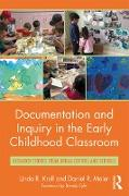 Cover-Bild zu Documentation and Inquiry in the Early Childhood Classroom (eBook) von Kroll, Linda R.