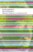 Cover-Bild zu Vier Erzählungen von Diderot, Denis