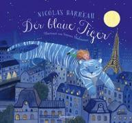 Cover-Bild zu Der blaue Tiger von Barreau, Nicolas